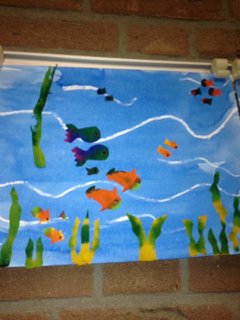 Knutsel Idee Aquarium Digifemke