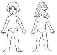 Download hier de jongen en het meisje als aankleedpop.: digifemke.nl/tag/jongen