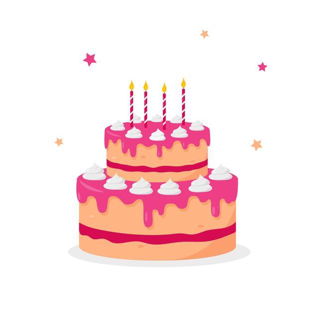 verjaardagstaart-met-kaarsen-geisoleerd-op-een-witte-achtergrond_313242-378